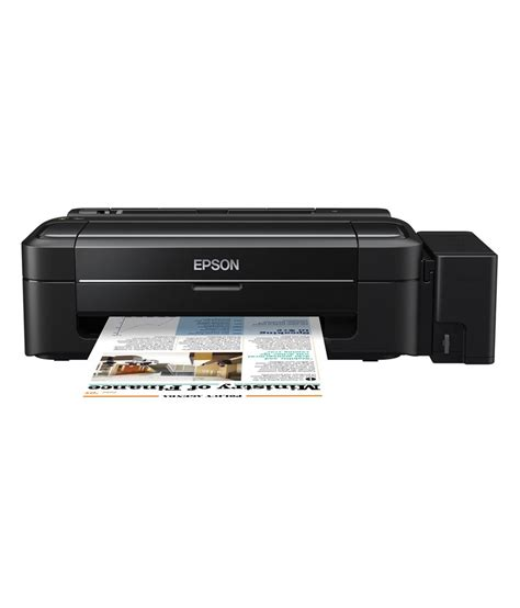 Printer Epson L310 Single Function epson l310 single function colour ink tank printer buy epson l310 single function colour ink