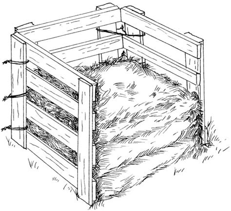 How to build a simple compost Bin.   Dannys Vegetable Garden