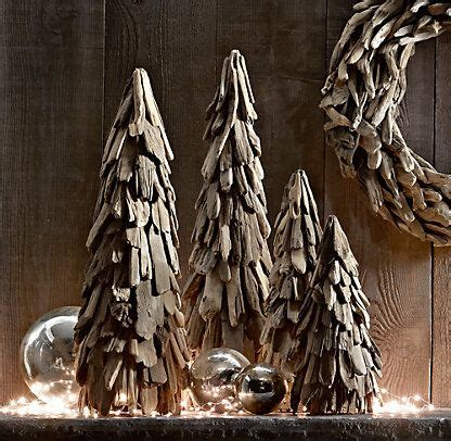 restoration hardware christmas trees for sale this would make a summer project for decor driftwood trees restoration