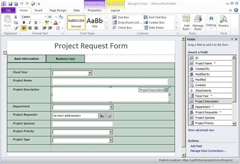 Prescriptive Guidance Infopath List Forms Implementation Lifecycle For Sharepoint 2010 Infopath Designer 2013 Templates