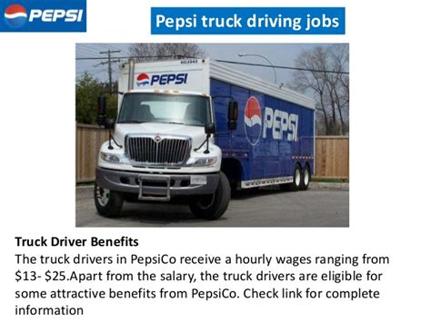 Truck Driver Background Check Pepsi Truck Driving