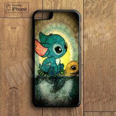 Indocustomcase Stitch Smile Apple Iphone 7 Or 8 Cover disney lilo stitch sketch iphone 5 5s stufffffffff