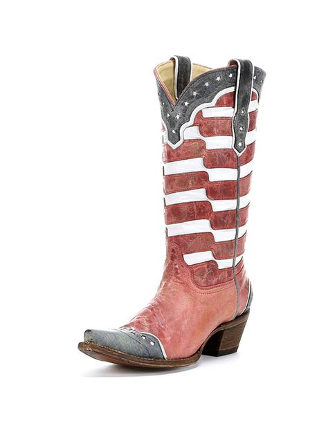 book of american flag womens cowboy boots in ireland by