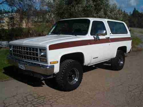 how to work on cars 1995 chevrolet k5 blazer electronic valve timing buy used 1991 chevy k5 blazer 4x4 rust free low miles in granite bay california united states