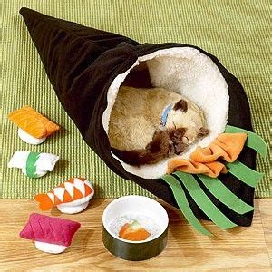 futon roll sushi cat beds sushi and cats on