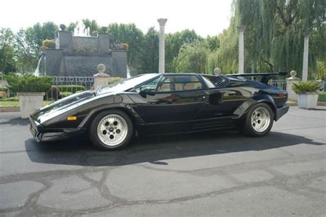 how it works cars 1989 lamborghini countach head up display classic 1989 lamborghini countach anniversary 6 180 miles black coupe v12 other manual for sale