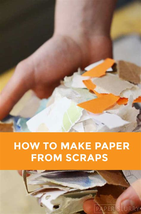 How To Make A In Paper - here s how to make handmade paper from recycled materials