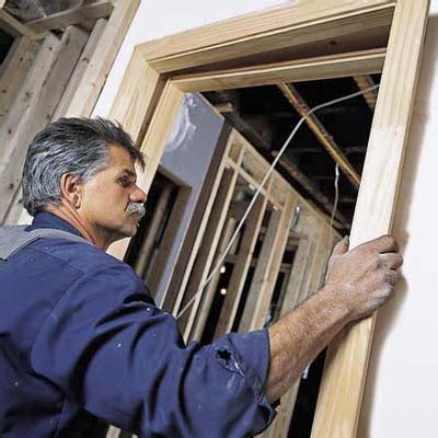 attach the split jamb how to install a prehung door