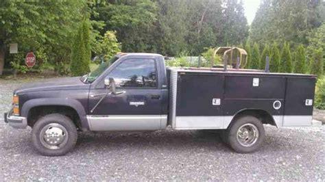 1993 chevrolet truck chevrolet service truck 1993 utility service trucks