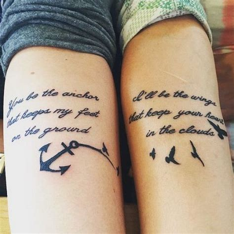 cool best friend tattoos 100 unique best friend tattoos with images
