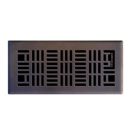 hampton bay      art nouveau floor register  oil rubbed bronze  ob