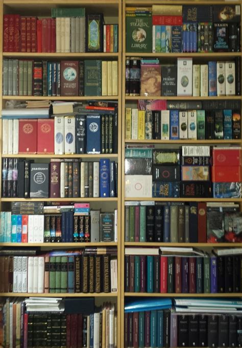 show me a picture of your bookshelf