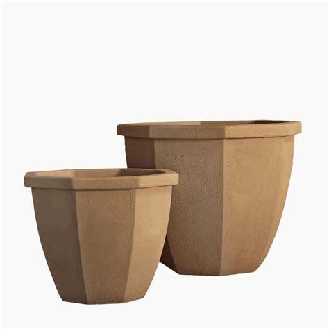 cast planters the duke modern cast planters line planters unlimited