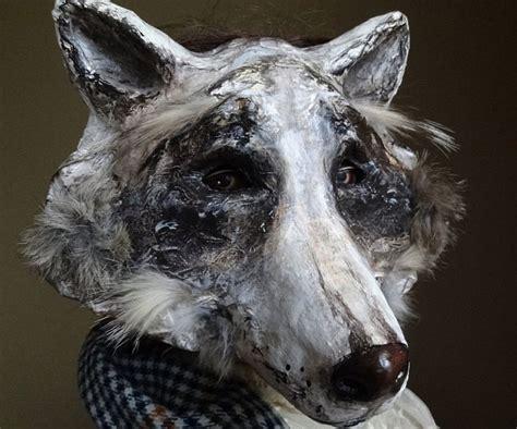 A Paper Mache Mask - paper mache animal masks paper mache animals animal