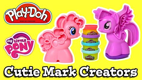 Playdoh My Pony Cutie Creators Play Doh My Pony play doh my pony cutie creators pinkie pie