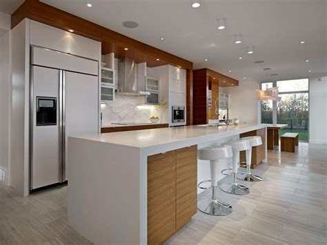 contemporary eat in kitchen island contemporary bright contemporary home in edmonton canada
