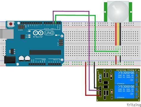 arduino pir diagram wiring diagram schemes