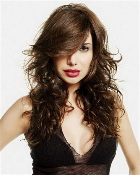 long feathered hair feathered hairstyles for long hair