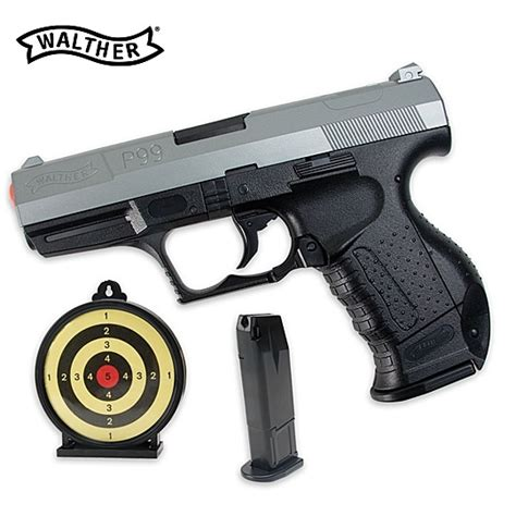 Airsoft Gun Walther P99 Walther P99 Specops Airsoft Pistol Kit True Swords