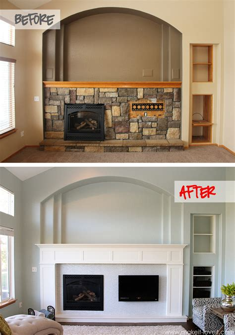 build your own fireplace home improvement build your own fireplace mantel hearth craftsman style make it and it