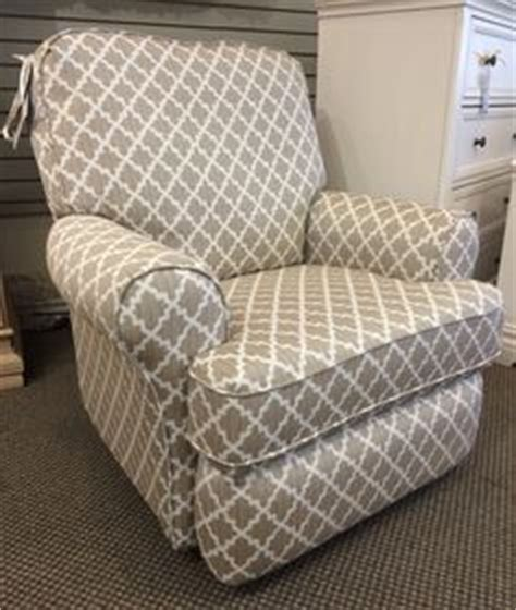 Best Chairs Ferdinand Indiana by Best Chairs Tryp Upholstered Swivel Glider Recliner Fabric
