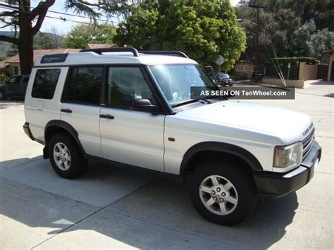 2004 land rover discovery s sport utility 4 door 4 6l