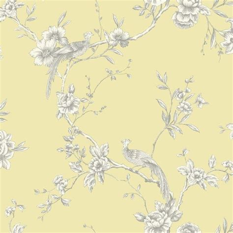 Contemporary Bathroom Design by Arthouse Opera Chinoise Yellow Wallpaper 422804 Cut