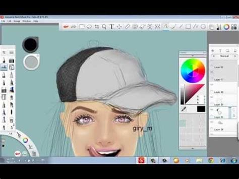 sketchbook pro speed drawing speed drawing with sketchbook pro