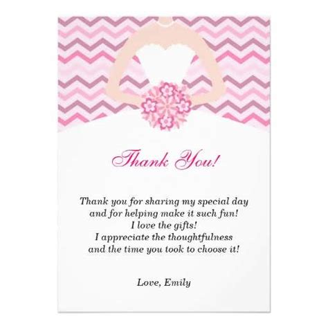 wedding shower thank you card template bridal shower thank you template 99 wedding ideas