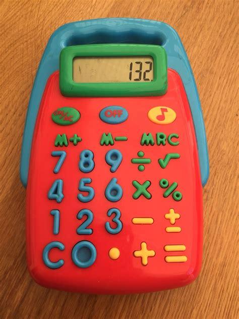 elc kids calculator  houghton regis    sale