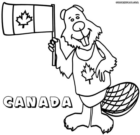 coloring pages canadian animals canadian flag coloring pages coloring pages to download