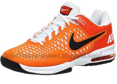 nike air max cage ts orange white tennis shoe tennis shoes