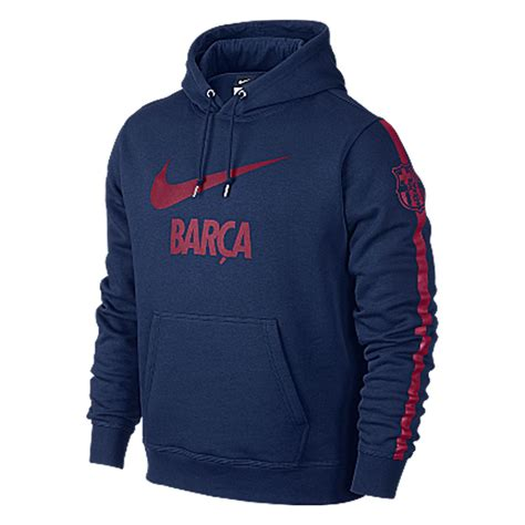 Sweater Barcelona fc barcelona nike barca swoosh hoody mens navy sweater