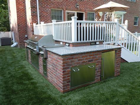 Outdoor L by Custom Built Outdoor Kitchens 2011 L Shape Kitchen Sav