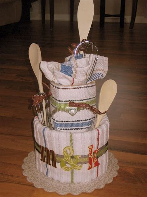 kitchen bridal shower cake ideas kitchen towel quot cake quot a great bridal shower gift other thing to make out of towels gift ideas
