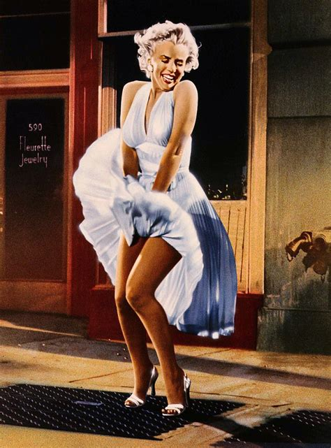 Fly Shoes Marilyn 4700 Gold marilyn s dress in the seven year itch sells for 163 2