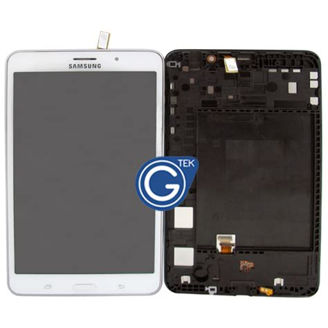 Samsung T231 Galaxy Tab 4 7 0 White genuine samsung galaxy tab 4 7 0 sm t231 sm t235 complete lcd with frame and home button in