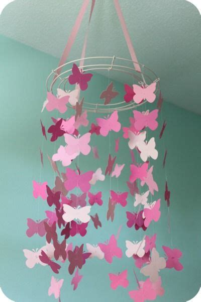 How To Make A Paper Butterfly Mobile - 25 unique butterfly mobile ideas on diy