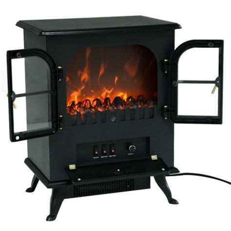 1500w free standing electric fireplace heater