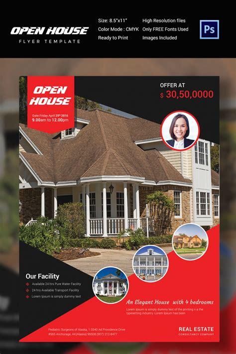 27 Open House Flyer Templates Printable Psd Ai Vector Eps Design Trends Premium Psd Free Open House Flyer Template