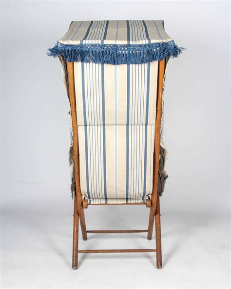 french canopy chair french beach chair with canopy at 1stdibs