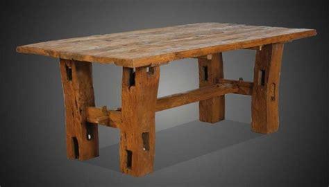 tische stühle gartenmobel holz tisch und bank bvrao