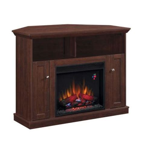 electric fireplaces at home depot hton bay charles mill 46 in convertible media console
