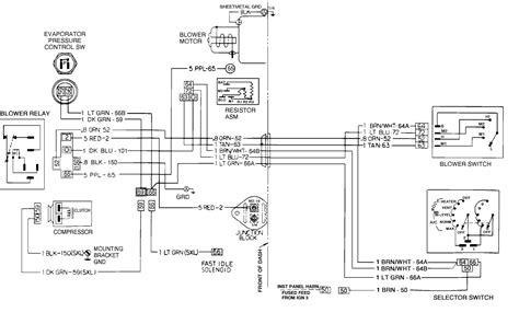 85 chevy blower motor wiring diagram wiring