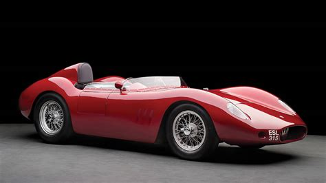 1957 Maserati 250s Jim Hall And Carroll Shelby 250s At