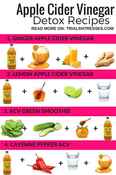 Apple Cider Vinegar Detox Juice Recipe by 25 Best Ideas About Apple Cider Vinegar Detox On