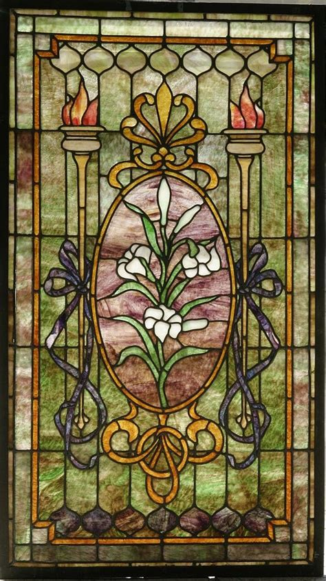Antique Stained Glass L by Antique American Stained Glass Windows Images