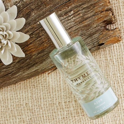 Thymes Azure by Thymes Azur Cologne Bath Fresh Scent