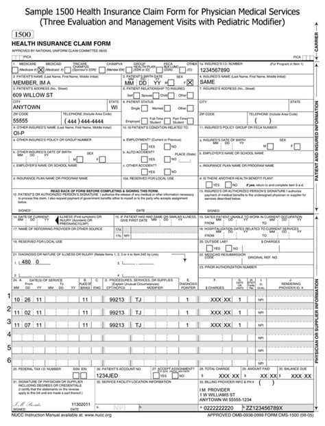 insurance claim form template insurance claim form template image search results