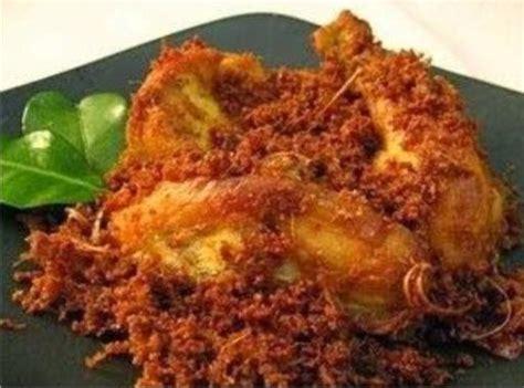 Variasi Menu Masakan Mak Nyuss resep masakan ayam panggang bumbu serundeng